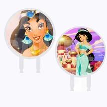 Princess Jasmin Cake Topper, 6 inch Round Circle 2 Sided Centerpiece 1PC - $19.75