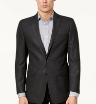 Calvin Klein Men's slim-Fit Textured Sport Coat Size 44L - $45.18