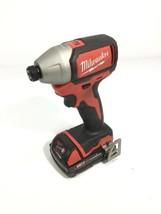 "Milwaukee Cordless 1/4"" 18v Hex Impact Driver 2750-20 with 2.0 Ah Battery - $93.49"