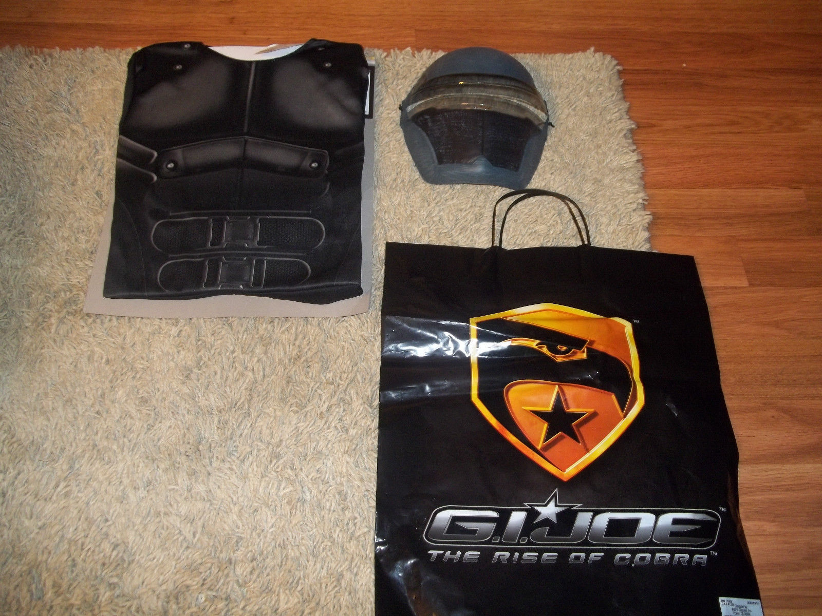 Halloween Costume Gi Joe Snake Eyes Small 4-6