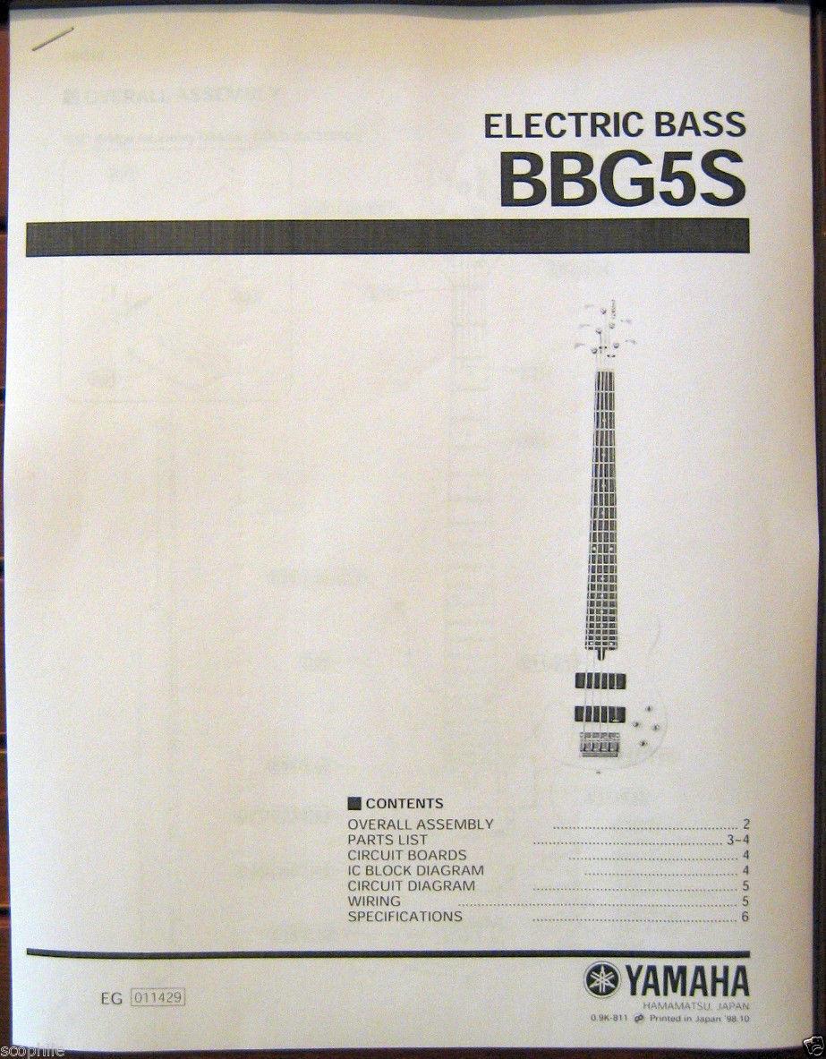 Yamaha Electric B Guitar Wiring Diagram Trusted Schematics Humbucker Pickup The Best 2017 Jaguar Bbg5s 5