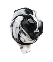 Modadorn New Arrivals Fall to Winter Multi-Cross with Border Print Scarf... - $11.87