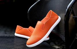shoes lazy 1 people Orange HF285 trend Sports leisure shoes ventilation HUnFRF