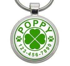Dog Tags - Four Leaf Clover - Dog ID Tags, Cat ID Tags, Pet ID Tags, Cat... - $19.99