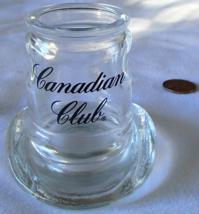 "Canadian Club Shot Glass 1997 Cowboy Hat KW Inc. Liquor Barware 2.5""  - $9.99"