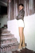 Audrey Hepburn in Sabrina rare color full length pose in shorts 18x24 Poster - $23.99