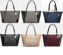 Coach 25913 AVA Tote Exploded Jacquard Leather handbag Purse bag 28467 5... - $129.00+