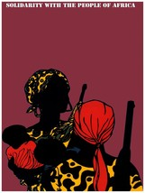 Decorative Poster.Interior wall art design.Solidarity with African Women... - $9.90+
