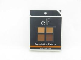 E.L.F. Foundation Palette Quad Medium/Dark 0.43 oz - $10.79