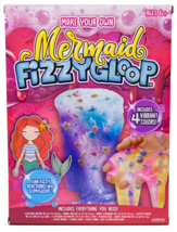 Make Your Own Mermaid Fizzy Gloop Slime Toy Games Family Fun Party Favors NIB image 3