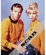 STAR TREK TOS KIRK & JANICE RAND 8X10 PHOTO #2232 - $12.00