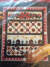 JoAnn Fabrics 2000 Holiday Tidings March Step 3 Quilt Block Pack Month 3 - $7.27