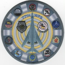 """4.5"""" Usaf Air Force 77TH Wps B-1B Wic 25TH Anniversary B-1 Embroidered Patch - $18.99"""
