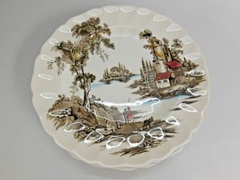 "Lot Set - 10"" Johnson Brothers THE OLD MILL 5 Dinner Plates - $30.84"