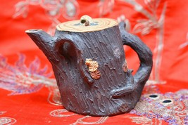 Vintage Chinese Yixing Pottery Teapot - 3 Inches tall~ - $19.80