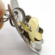 Collier Argent 925, Chaîne Ovale, Pendentif Papillon Grand, Groupe Papillons image 5