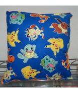 Pokemon Pillow, HANDMADE in USA, Pikachu, Anime, Manga, Video Game, Pokemon Go - $10.34