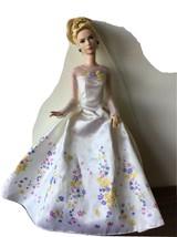 "Disney Cinderella Wedding Day Doll 12"" Live Action Movie 2014 T - $44.54"