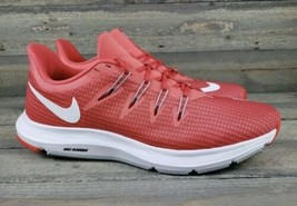 Nike Quest AA7412 800 Ember Glow Gym Running Shoe Womens Size 9 New Fast... - $78.39