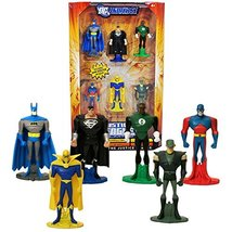 Year 2008 DC Universe Justice League Unlimited JLU Series 6 Pack 3 Inch ... - $79.99