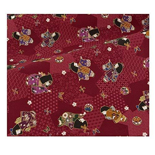 DRAGON SONIC Japanese Style Fabric Cloth for Sewing Multi-purpose Fabric Cloth R