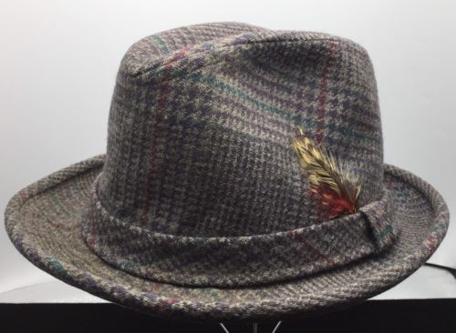 e0317b211a859 Vintage Pendelton Mills Portland OR 100% Virgin Wool Fedora Size 6 7 8 USA  Made -  9.90