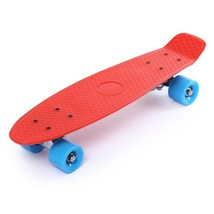 Mini Cruiser Skateboard Style Complete 22 Inches Four wheel Street Long ... - $48.99
