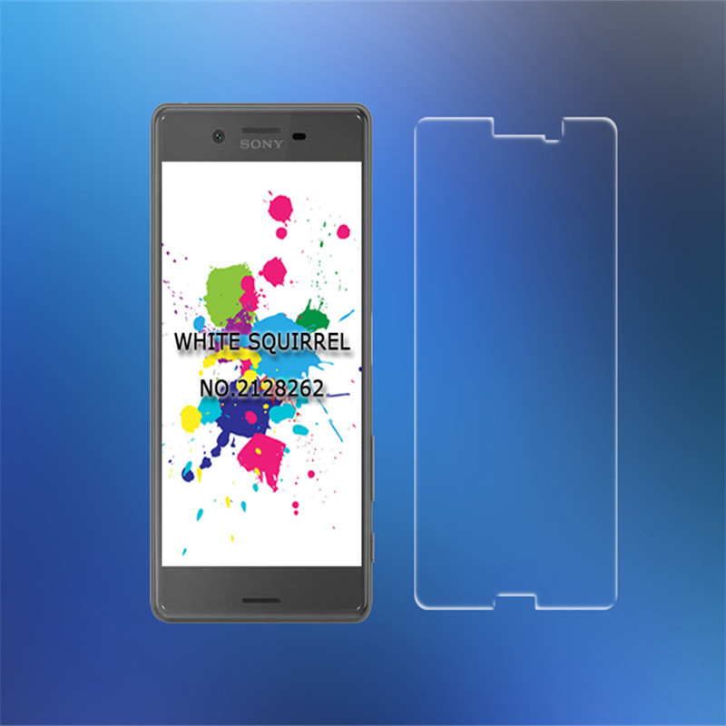 ... Screen Protector 9H 0 3mm Ultra thin Glass Film For Sony Xperia M2