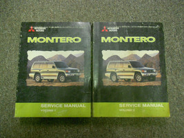2000 MITSUBISHI Montero Shop Service Repair Manual Set FACTORY BOOKS FEO... - $197.98