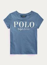 Ralph Lauren Capri Blue Cotton Jersey Logo Tee, Us 3T - $14.85