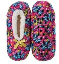 My Little Pony Girls Fuzzy Sherpa Slipper Socks S M Shoe size 8 9 10 11 12 - $6.88