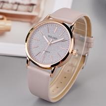 Ophelia Luxury Brand Leather strap Ladies Quartz Watch - $34.99
