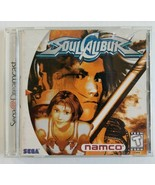 Soul Calibur Sega Dreamcast 1999 Namco Complete with Manual & Game and Case - $44.43