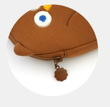 Brunch Brother Flying Owl Pouch Cosmetic Bag Case Organizer (Brown) image 7