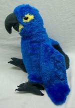 "Wild Republic Very Soft Blue Parrot Macaw 10"" Plush Stuffed Animal Toy - $19.80"