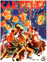 "431.Cuban Poster""Conga dance.Guaracheros de Regla""Cuba Unique Interior D... - $10.45+"