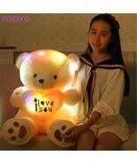Teddy Bear Led Big Plush Toy Light Animal Colorful Stuffed Glowing Gift ... - $20.78