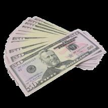 50x $50 Full Print Bills Play Poker Game Joke Prank Fun Music Video Fake  - $12.99