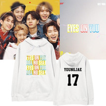 KPOP GOT7 Hoodie Eyes On You Pullover BAMBAM Letter Tops Casual Cotton - $17.99