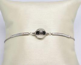 Bracelet Vintage Antique Murrina Venezia 925 Silver Murano Glass Charms Bead image 5