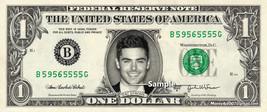 ZAC EFRONS on a Real Dollar Bill Cash Money Collectible Memorabilia Celebrity No - $8.88