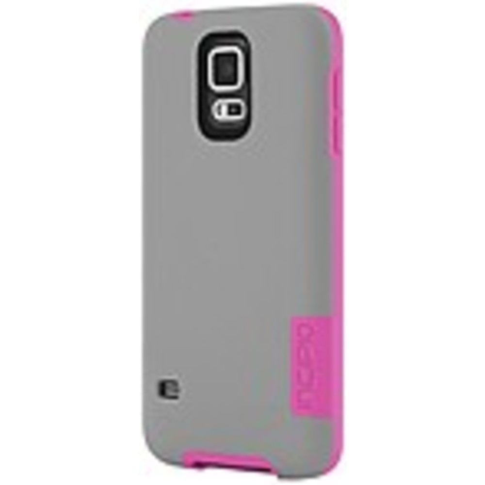Incipio OVRMLD Case for Samsung Galaxy S5 - Gray/Pink - SA-531-GRY - Flexible Ha
