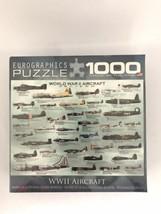 World War II 2 Aircraft 1000 Pc Jigsaw Puzzle Eurographics New Sealed 19x26 - $17.81