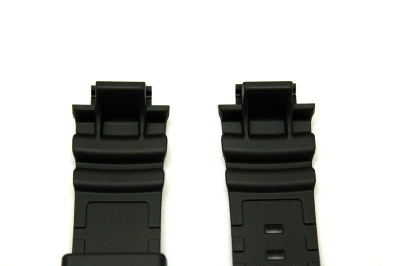 CASIO G-Shock AWG-M100A 16mm Black Rubber Watch BAND AWG-M100B AWG-M100F
