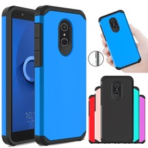 For Alcatel TCL LX/ IdealXTRA/1X Evolve Case Armor Hybrid Shockproof Phone Cover - $10.90