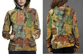 Map tolkiens legendarium Hoodie Zipper Women's - $48.99+