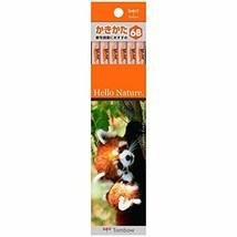 Tombow Pencil pencil Hello Nature Red Panda 6B 1 dozen KB-KHNLP6B - $14.42