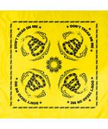 "Yellow Don't Tread On Me Flag Cotton Biker Skull Bandana (22"" x 22"") - $7.99"