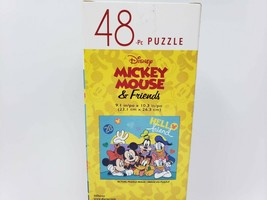 Disney Mickey Mouse & Friends 48 Pc Jigsaw Puzzle - New - $8.99