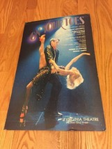 Original ON YOUR TOES Window Card Broadway Poster from Virginia Theatre ... - $41.65